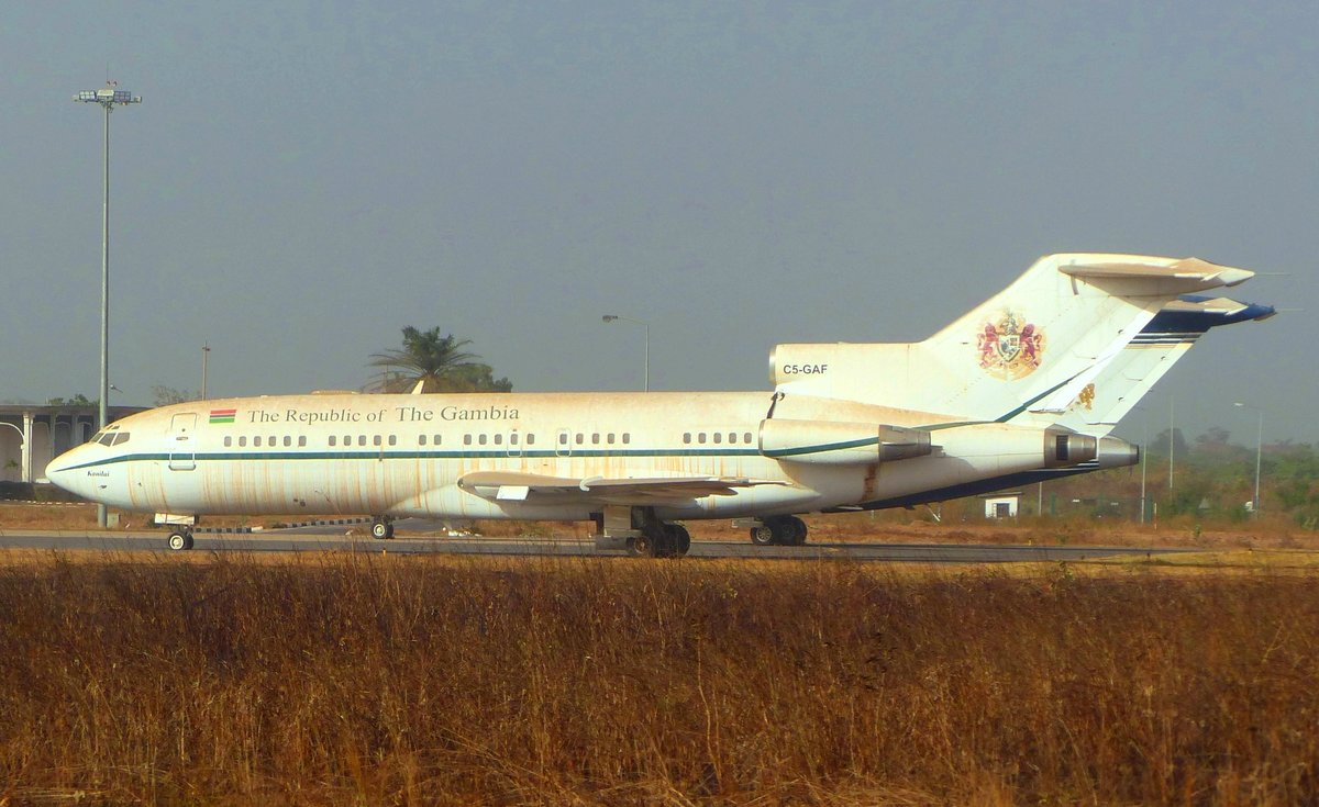 Gouvernement of Gambia, Boeing 727-95, C5-GAF, Banjul International Airport (BJL), 26.2.2019