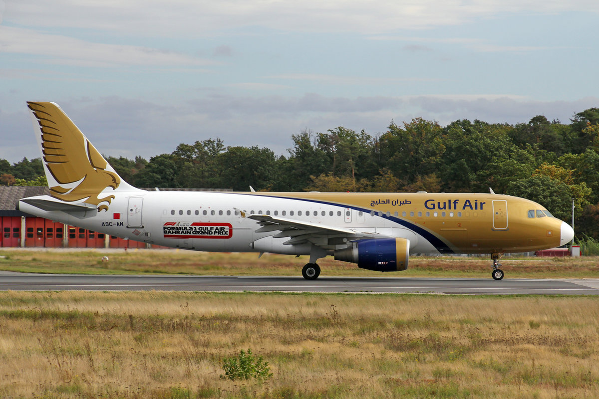 Gulf Air, A9C-AN, Airbus A320-214, msn: 4865, msn: 4865, 29.September 2019, FRA Frankfurt, Germany.