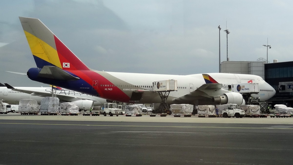 flights asiana airlines koror london