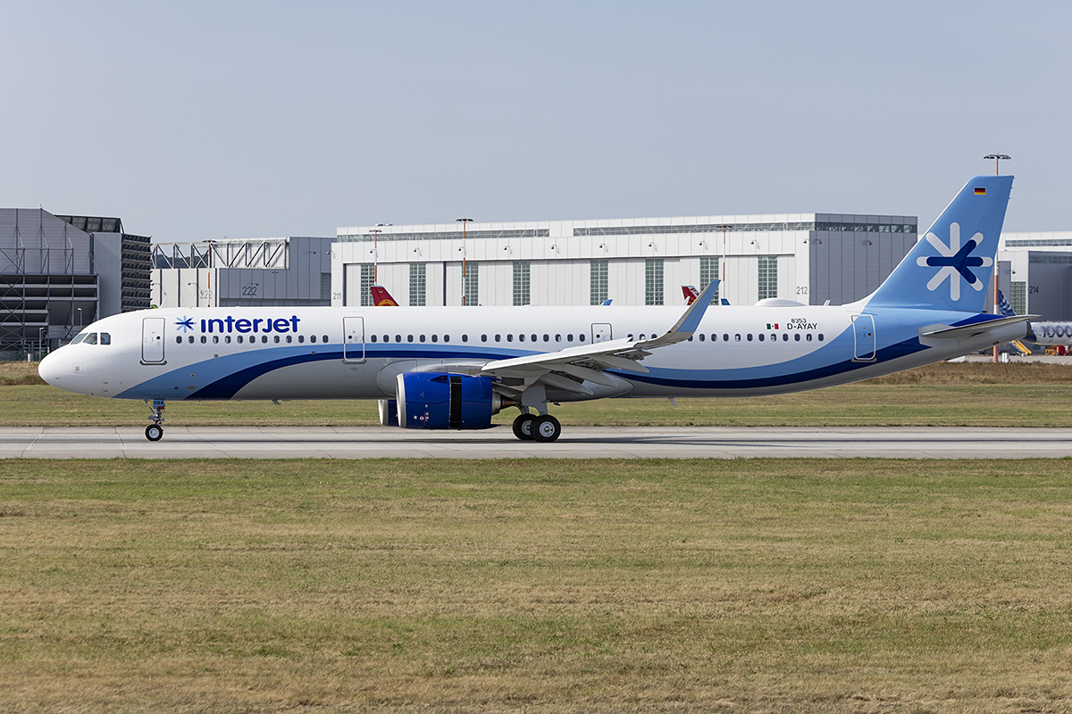 Interjet, D-AYAY ( later Reg.: XA-DBR ), Airbus, A320-251N, 22.08.2018, XFW, Finkenwerder, Germany