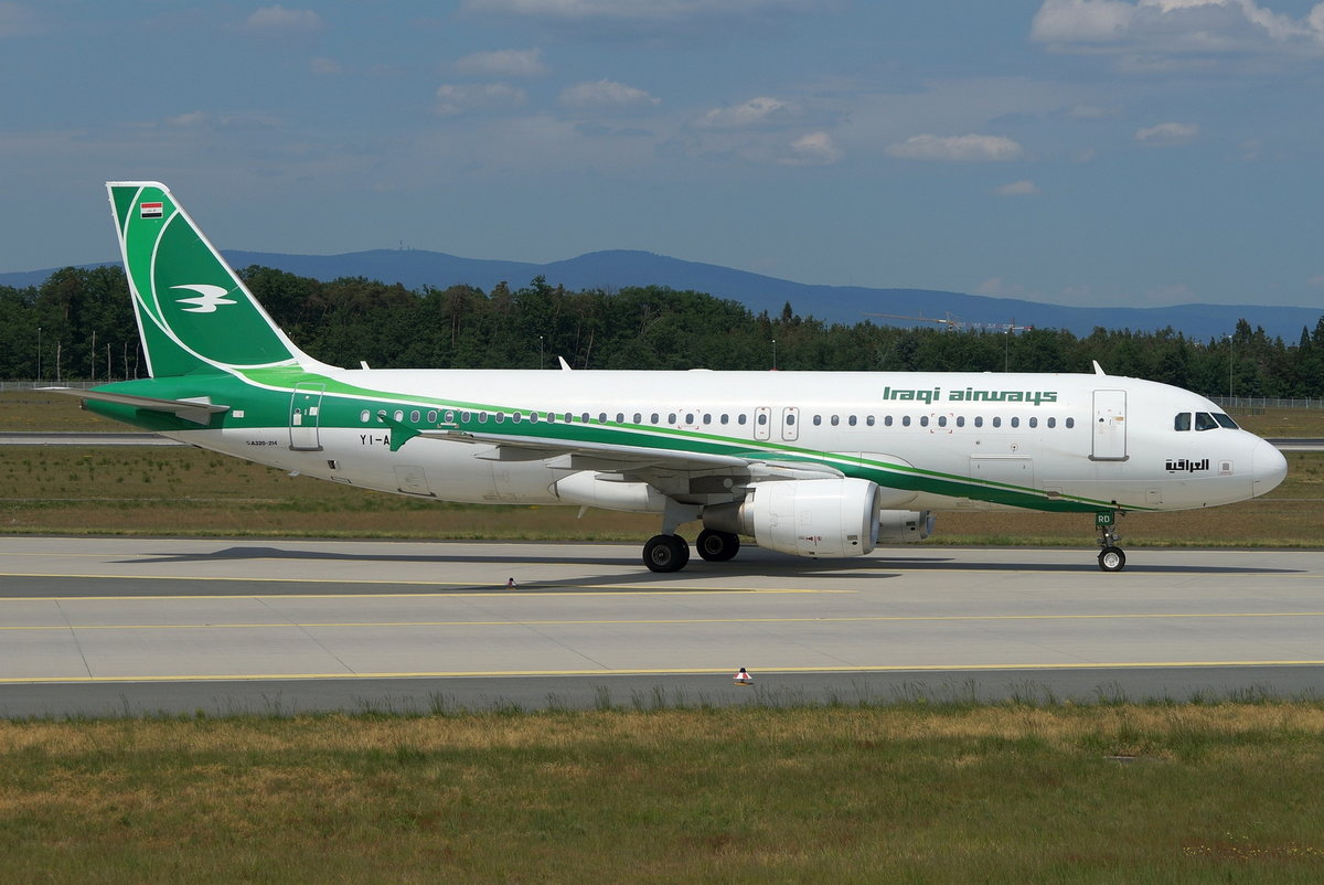 Iraqi Airways Airbus A320-214 YI-ARD, cn(MSN): 5464,