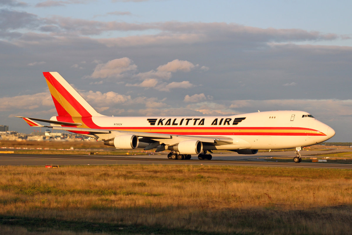 Kalitta Air, N700CK, Boeing 747-4R7F, msn: 25868/1125, 28,September 2019, FRA Frankfurt, Germany.