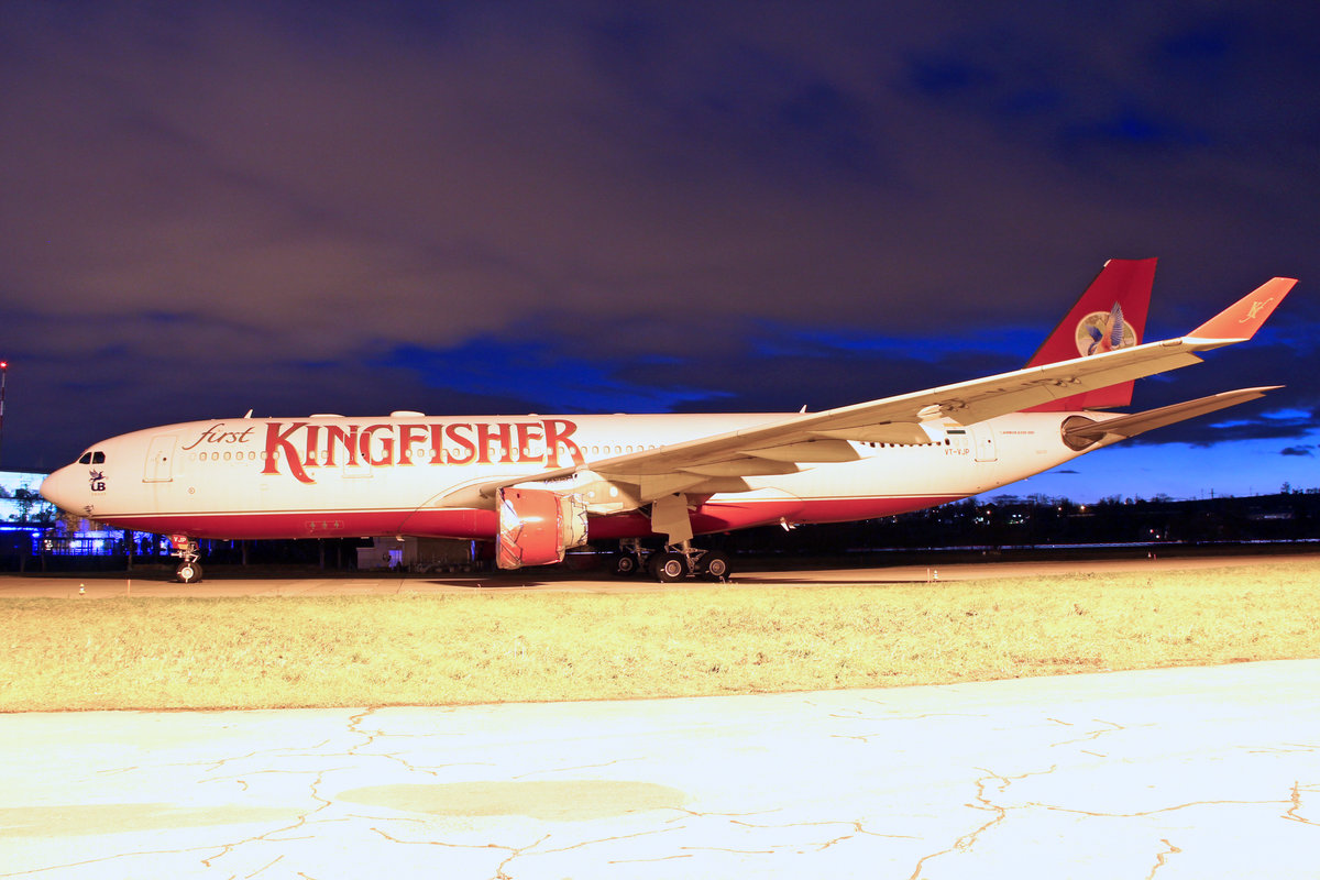 Kingfisher Airlines, VT-VJP, Airbus A330-223, msn: 946, 26.Dezember 2012, ZRH Zürich, Switzerland.