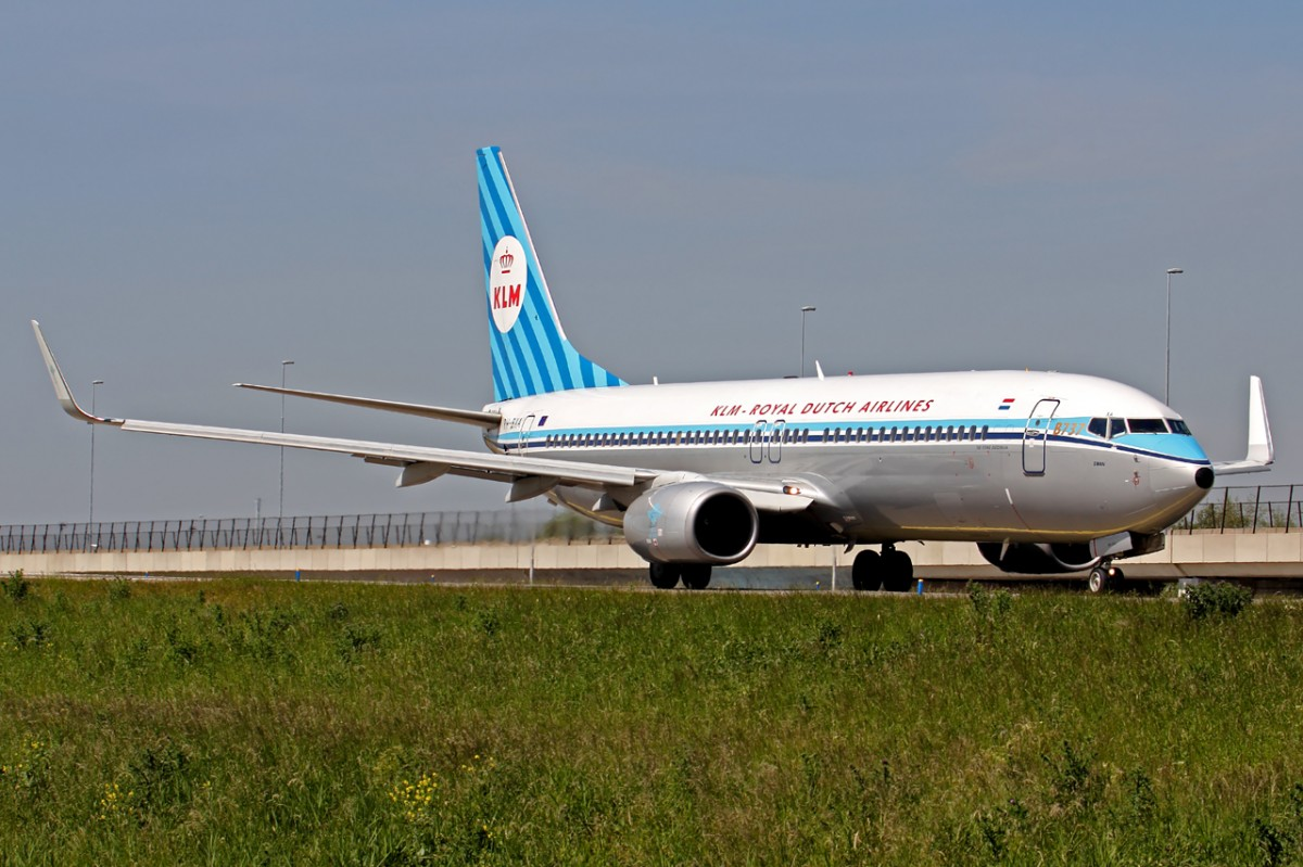 KLM Retrojet PH-BXA in Amsterdam 17.5.2014