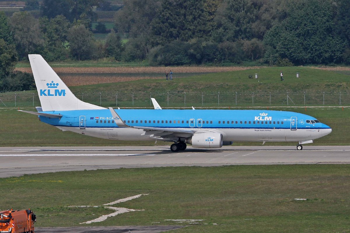 KLM Royal Dutch Airlines, PH-BCA, Boeing, 737-8K2 wl,  Flamingo , MUC-EDDM, München, 05.09.2018, Germany