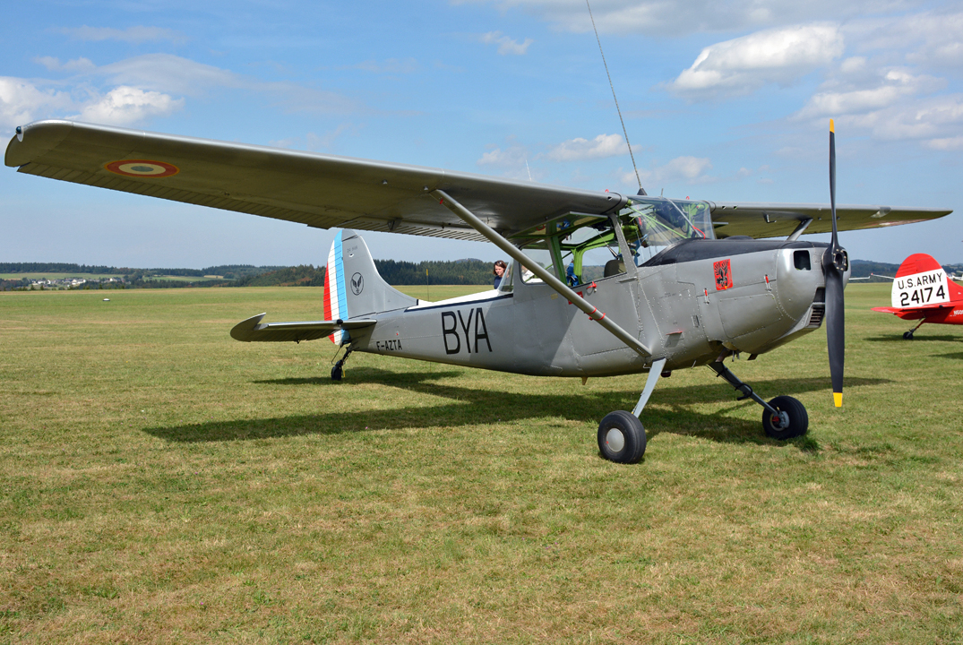 L 19E Bird Dog (Cessna 305C), F-AZTA in Wershofen - 03.09.2016