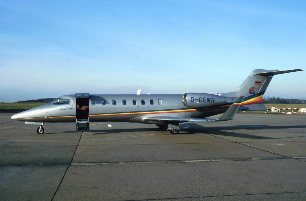 Learjet 45 - Private - 45-213 - D-CEWR - 1997 - DRS