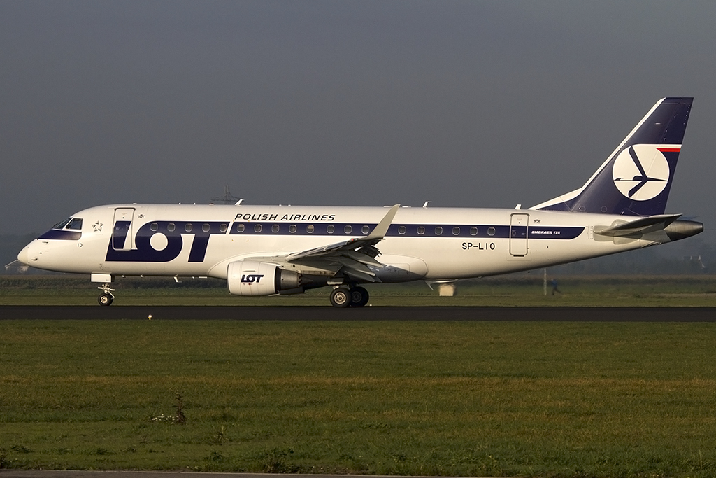LOT, SP-LIO, Embraer, EMB-175, 07.10.2013, AMS, Amsterdam, Netherlands