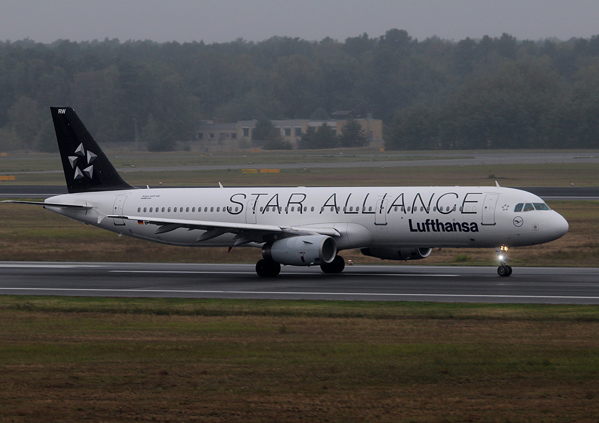 Lufthansa A 321-131 D-AIRW  Heilbronn  beim Start in Berlin-Tegel am 13.09.2014