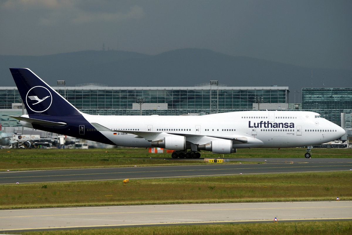 Lufthansa, Boeing B747-430, D-ABVM, cn(MSN): 29101,