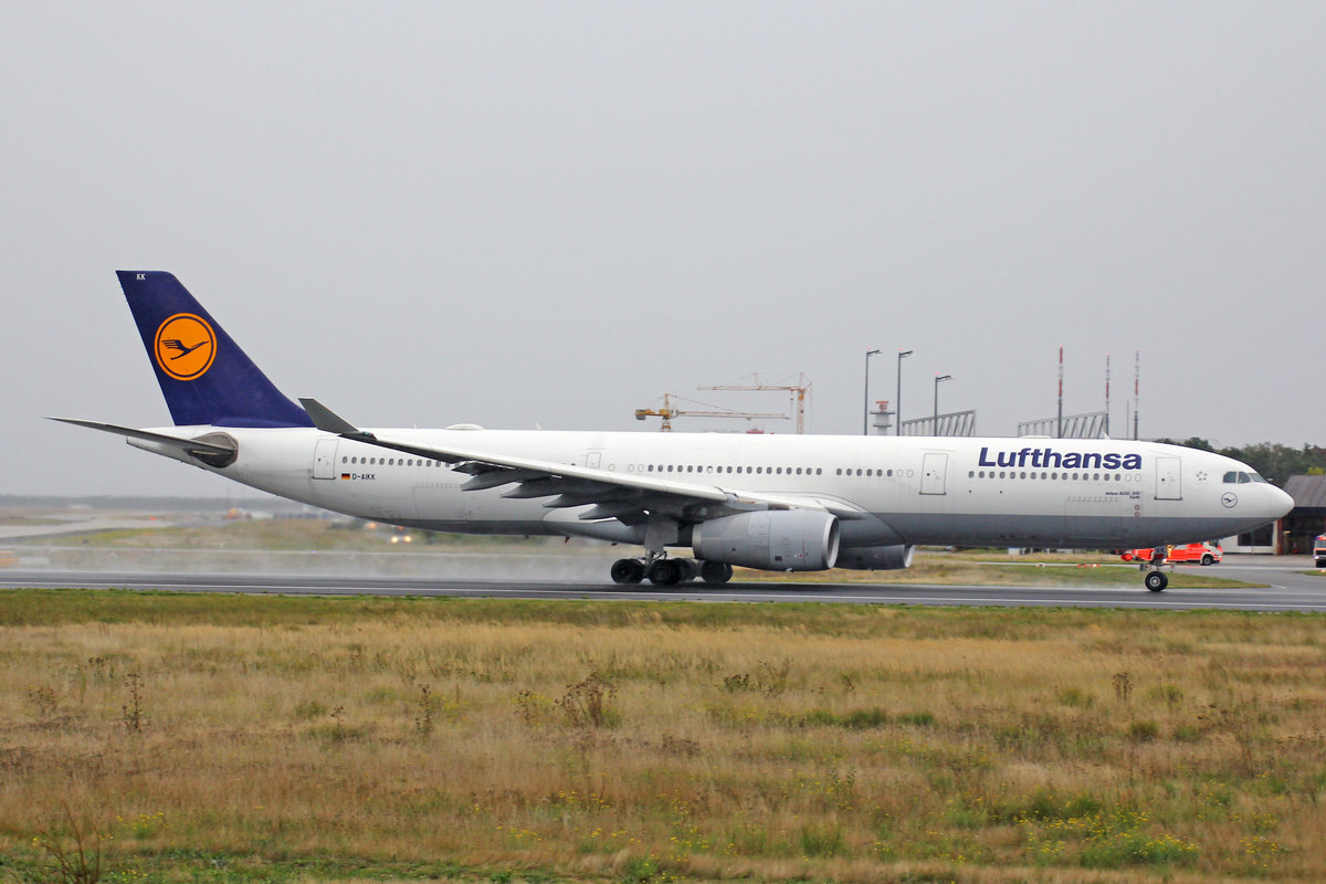 Lufthansa, D-AIKK, Airbus A330-343X, msn: 896,  Fürth , 29.September 2019, FRA Frankfurt, Germany.