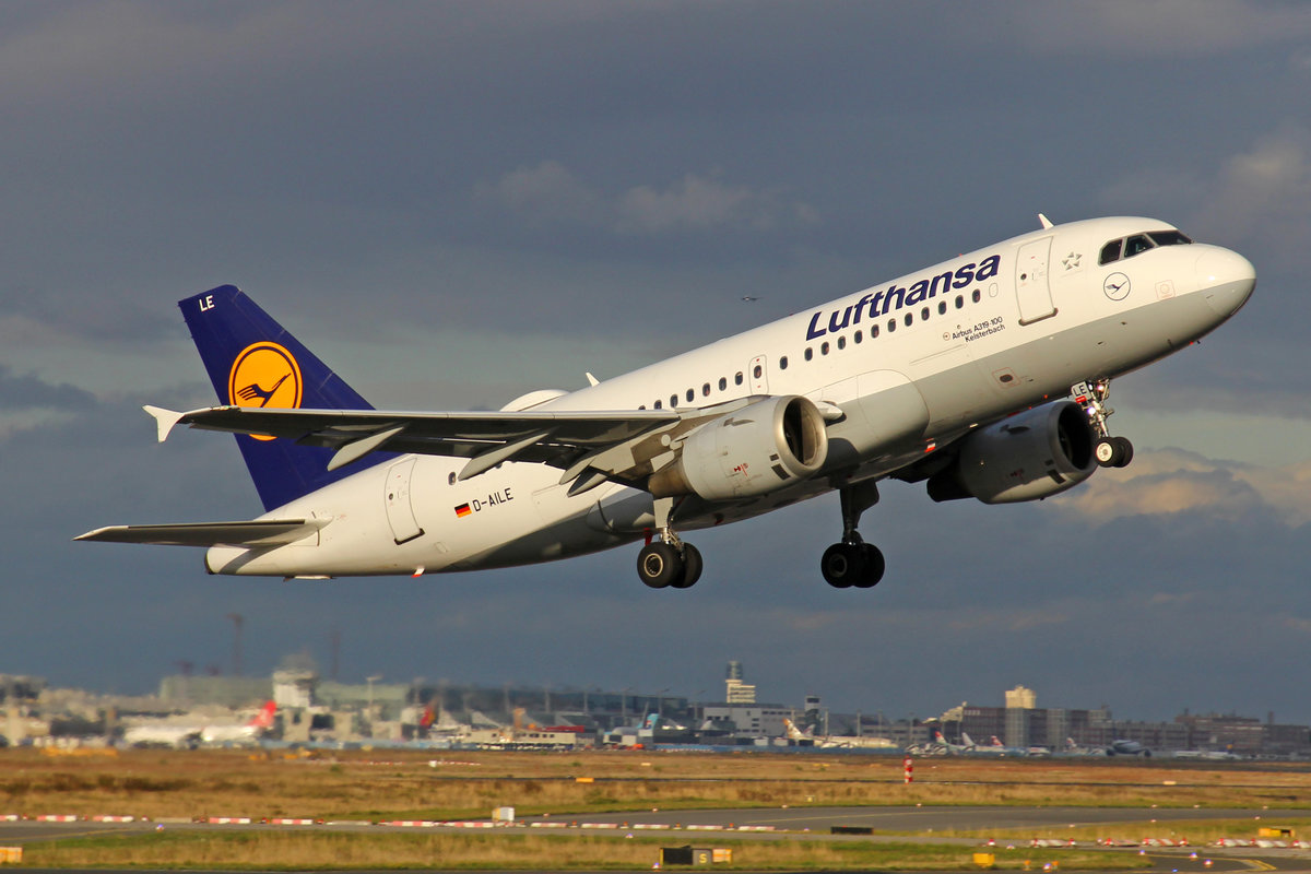 Lufthansa, D-AILE, Airbus A319-114, msn: 627,  Kelsterbach , 28,September 2019, FRA Frankfurt, Germany.