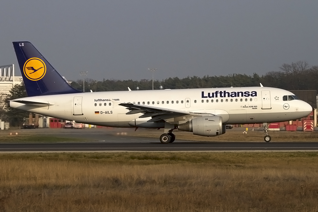 Lufthansa, D-AILS, Airbus, A319-114, 06.03.2014, FRA, Frankfurt, Germany