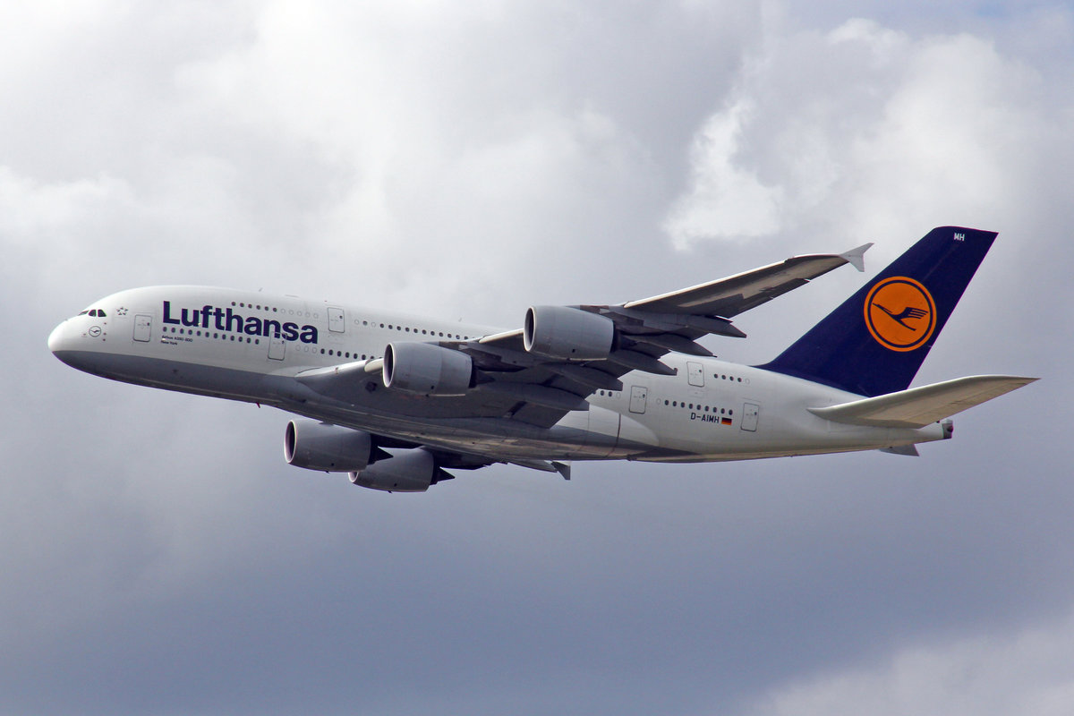 Lufthansa, D-AIMH, Airbus A380-841,  New York , 20.Mai 2017, FRA Frankfurt am Main, Germany.