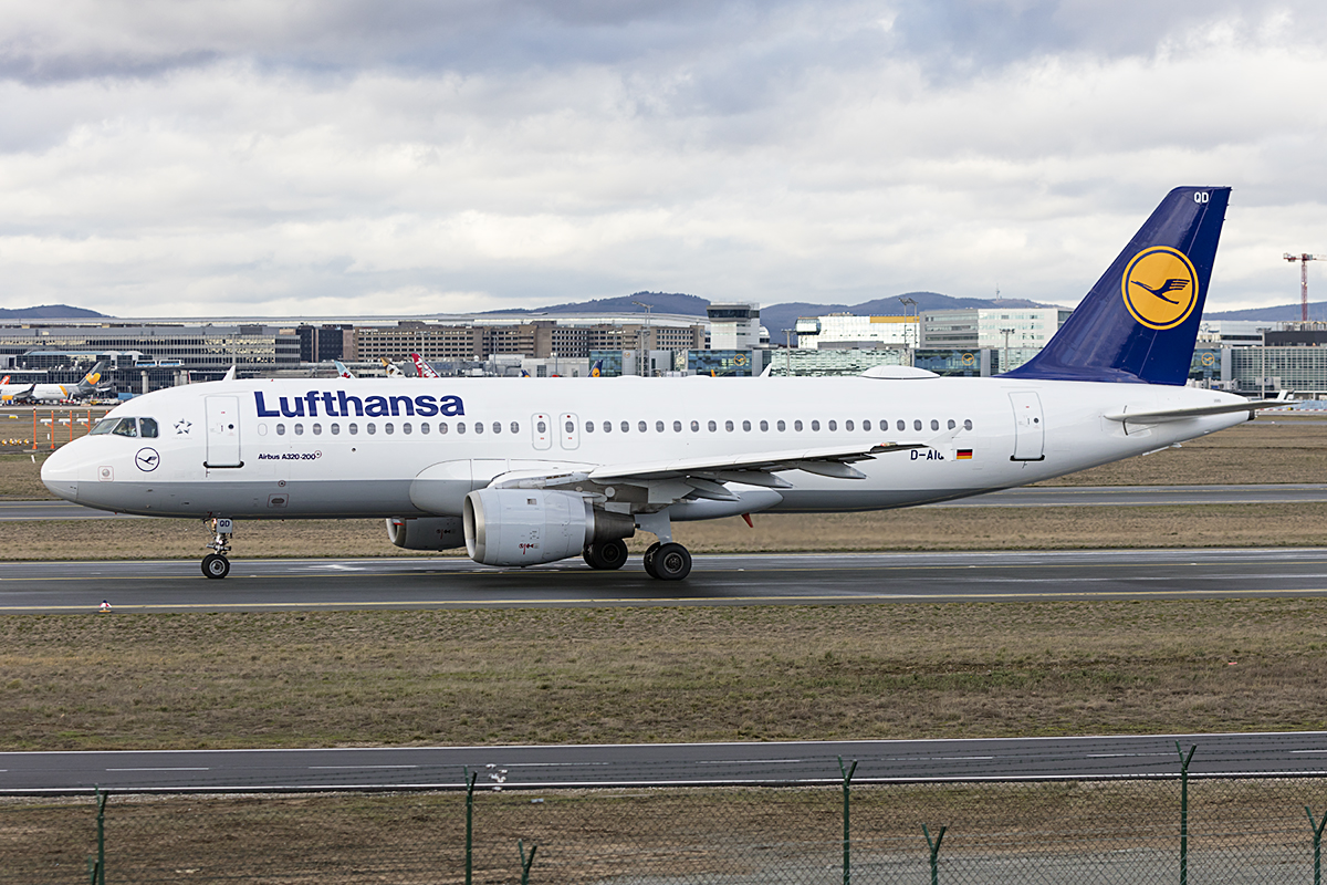 Lufthansa, D-AIQD, Airbus, A320-211, 17.01.2019, FRA, Frankfurt, Germany