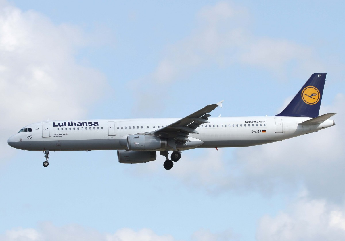 Rosenheim Germany  city pictures gallery : Lufthansa, D AISP