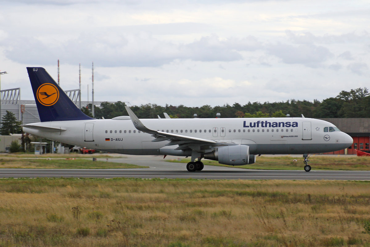Lufthansa, D-AIUJ, Airbus A320-214, msn: 6301, 29.September 2019, FRA Frankfurt, Germany.