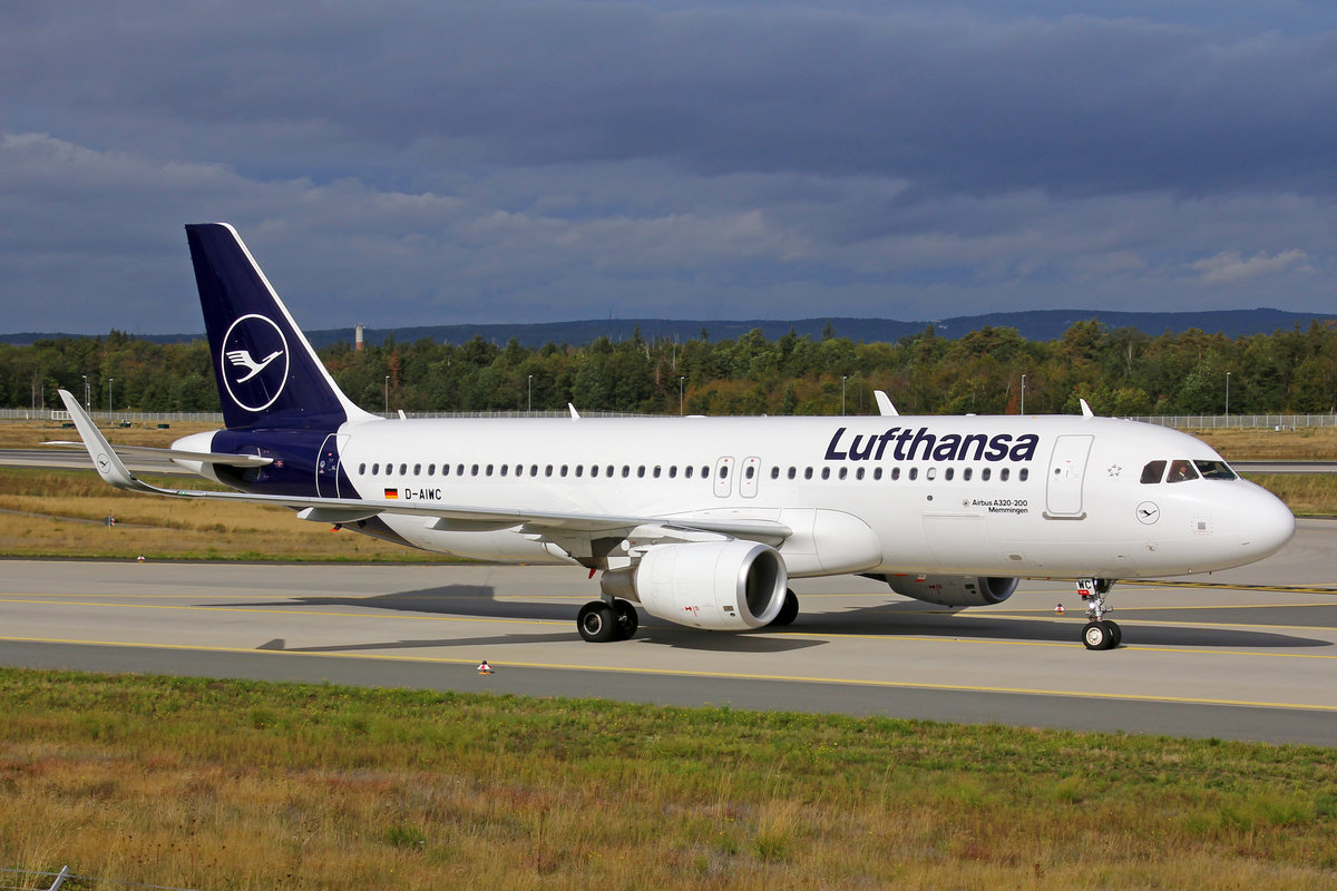 Lufthansa, D-AIWC, Airbus A320-214, msn: 8667,  Memmingen , 29.September 2019, FRA Frankfurt, Germany.