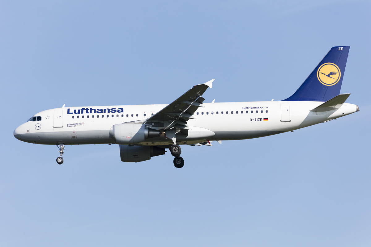 Lufthansa, D-AIZE, Airbus, A320-214, 29.09.2016, MUC, München, Germany