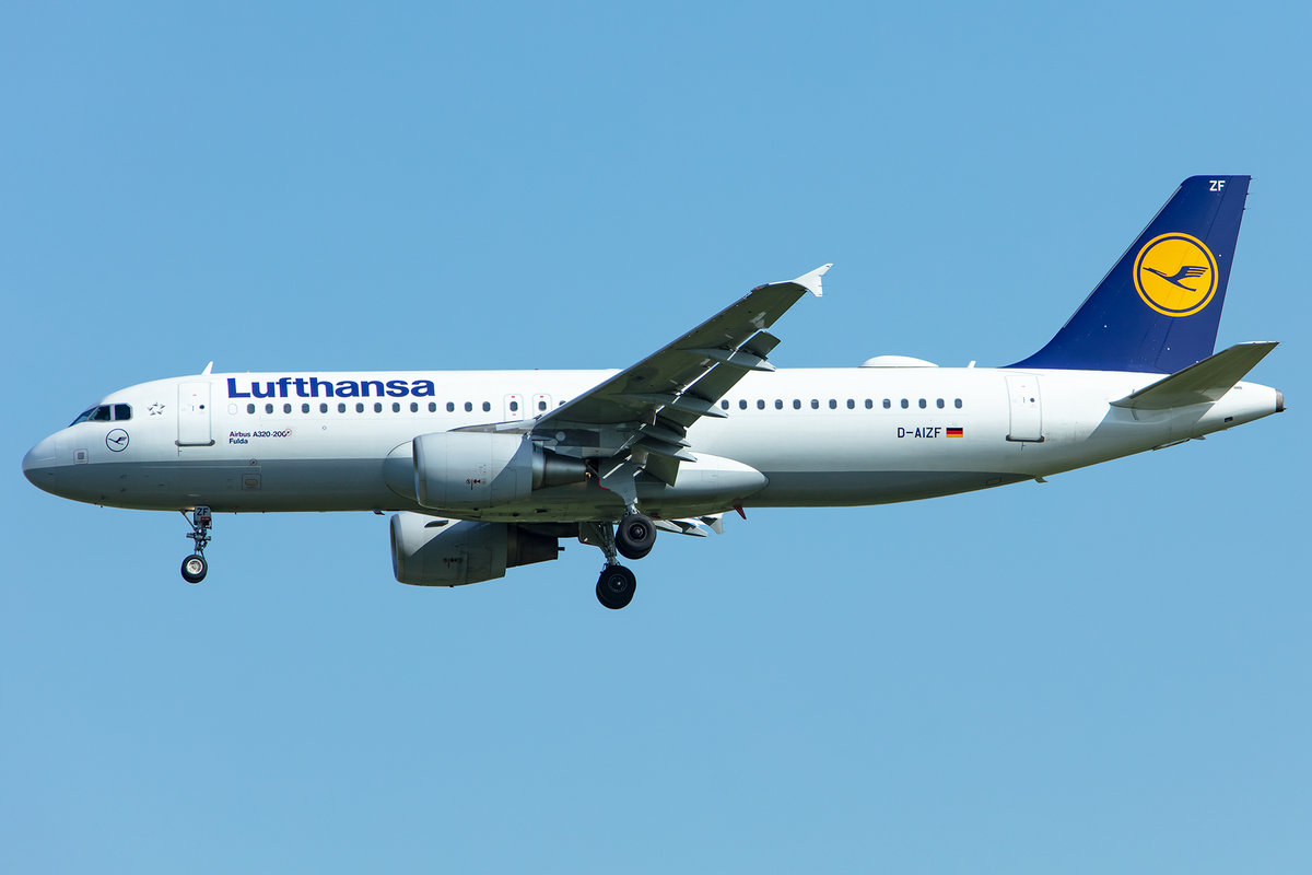 Lufthansa, D-AIZF, Airbus, A320-214, 02.05.2019, MUC, München, Germany