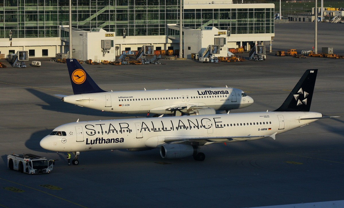 Lufthansa,D-AIRW,(c/n 699),Airbus A321-131,21.04.2015,MUC-EDDM,München,Germany(STAR ALLIANCE cs.)