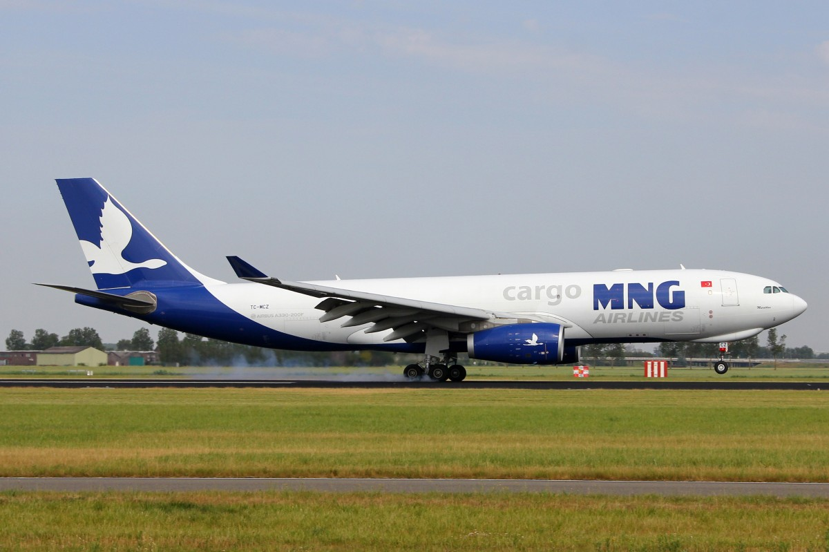 MNG Cargo, TC-MCZ, Airbus A330-243F,  Murathan , 4.Juli 2015, AMS Amsterdam, Netherlands.
