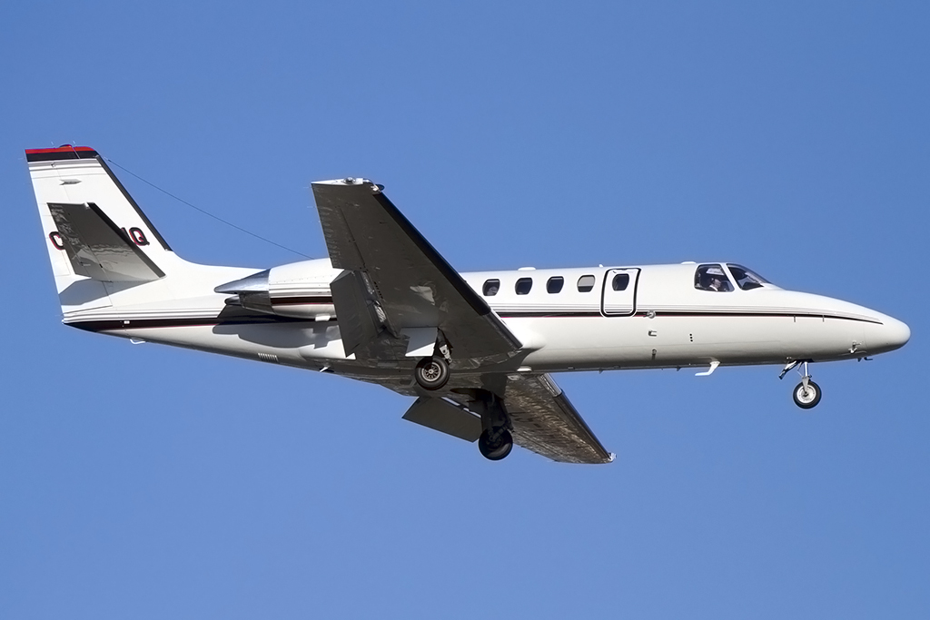 NETJets - Europe, CS-DHQ, Cessna, 550B Citation Bravo, 02.03.2014, GVA, Geneve, Switzerland