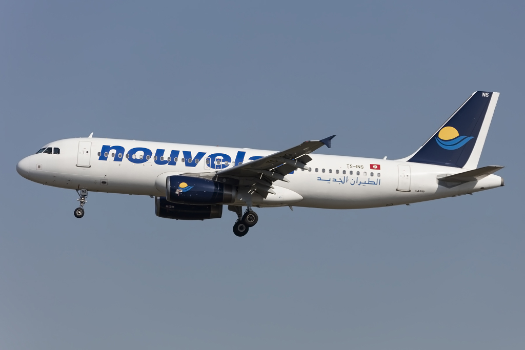 Nouvelair, TS-INS, Airbus, A320-232, 30.08.2015, FRA, Frankfurt, Germany