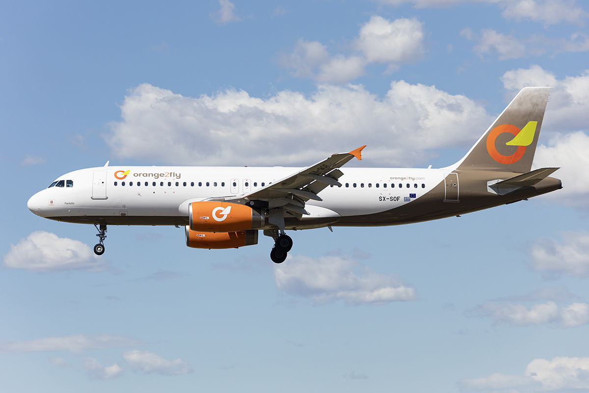 Orange2fly, SX-SOF, Airbus, A320-232, 10.09.2017, BCN, Barcelona, Spain
