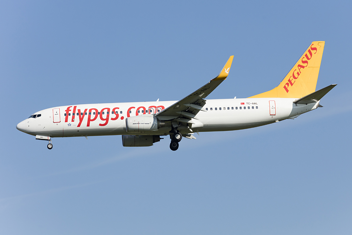 Pegasus Airlines, TC-AAL, Boeing, B737-82R, 29.09.2016, MUC, München, Germany