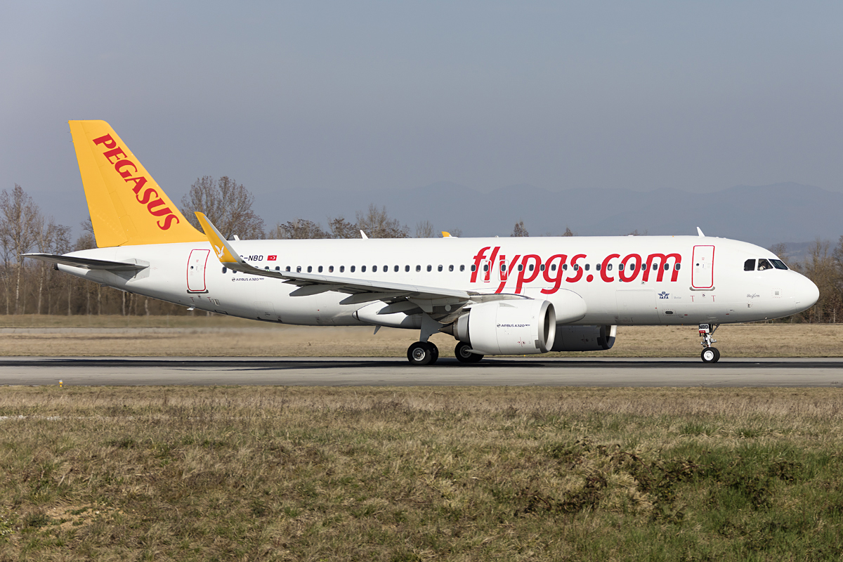 Pegasus Airlines, TC-NBD, Airbus, A320-251N, 15.03.2017, BSL, Basel, Switzerland