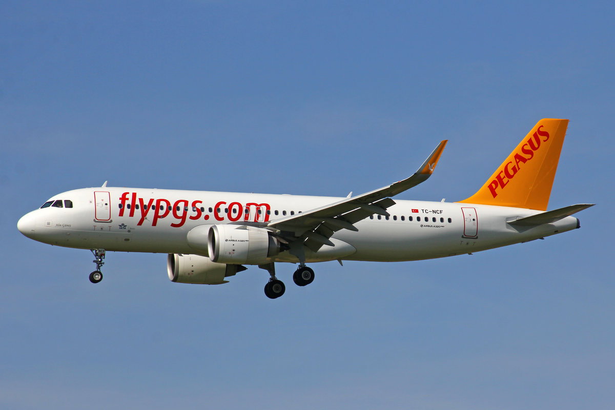 Pegasus Airlines, TC-NCF, Airbus A320-251N, msn: 8956,  Alin Güneş , 01.August 2019, ZRH Zürich, Switzerland.