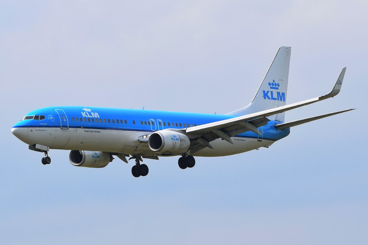 PH-BGX KLM Royal Dutch Airlines Boeing 737-800(WL) , MUC , 20.05.2018