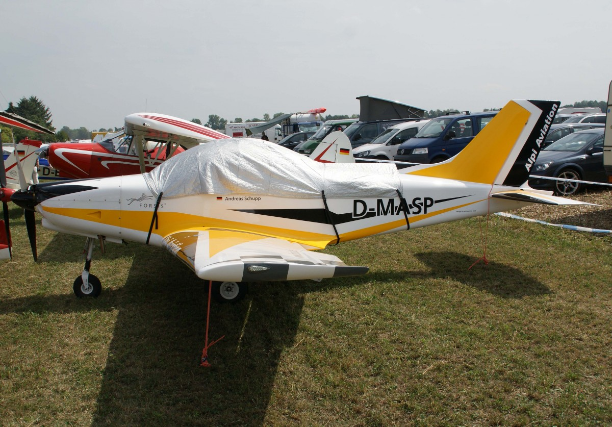 Privat, D-MASP, Alpi Aviation, Pioneer 300, 23.08.2013, EDMT, Tannheim (Tannkosh '13), Germany