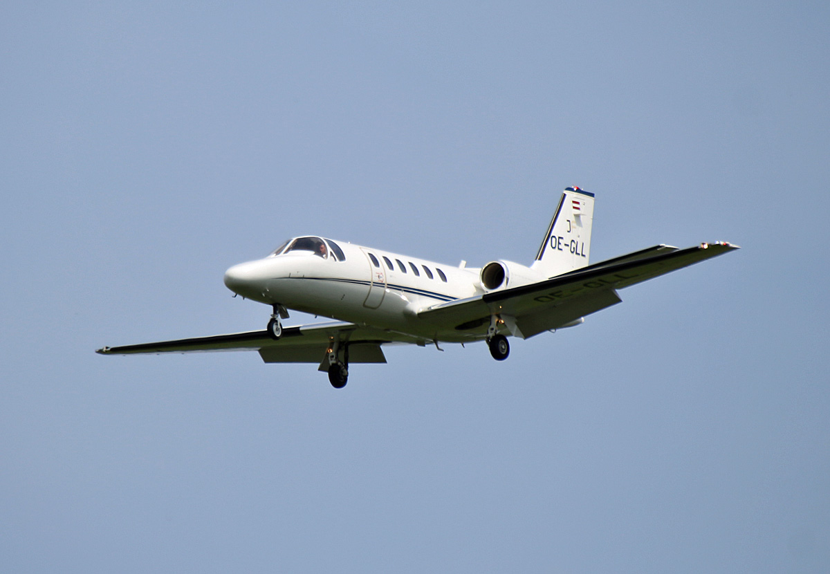 Private, Cessna 550B Citation Bravo, OE-GLL, SXF, 24.05.2019