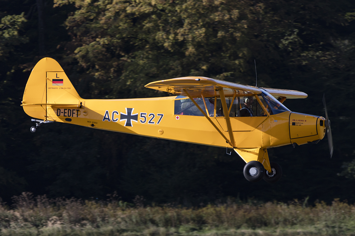 Private, D-EDFT, Piper, PA-18C Super Cub, 09.09.2016, EDST, Hahnweide, Germany