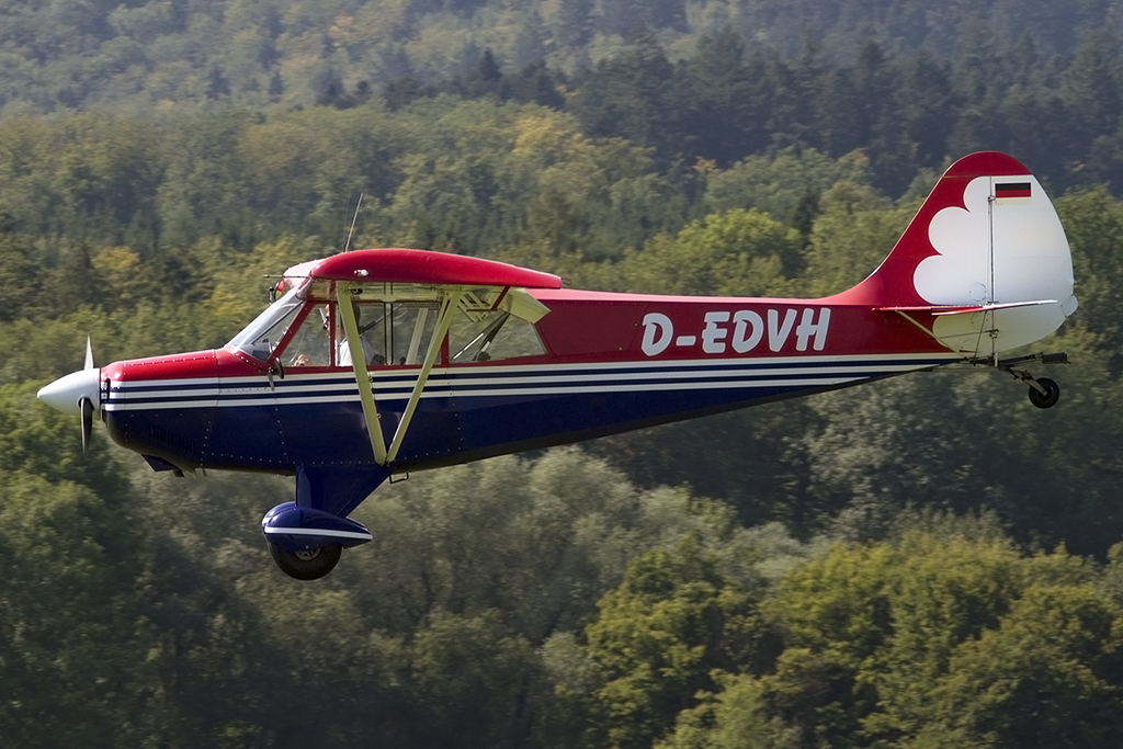 Private, D-EDVH, Aviat, Husky, 06.09.2013, EDST, Hahnweide, Germany