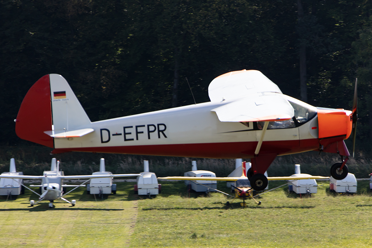 Private, D-EFPR, Putzer, Elster B, 13.09.2019, EDST, Hahnweide, Germany