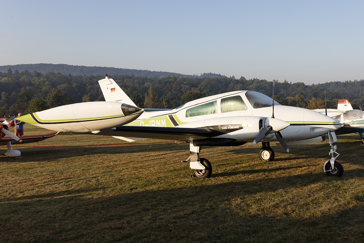 Private, D-IBMM, Cessna, 310, 10.09.2016, EDST, Hahnweide, Germany