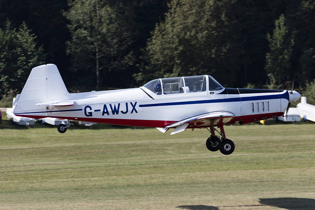 Private, G-AWJX, Zlin, Z-526 Trener Master, 09.09.2016, EDST, Hahnweide, Germany