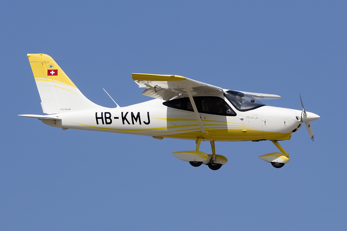 Private, HB-KMJ, Tecnam, P.2008, 12.07.2018, BSL, Basel, Switzerland