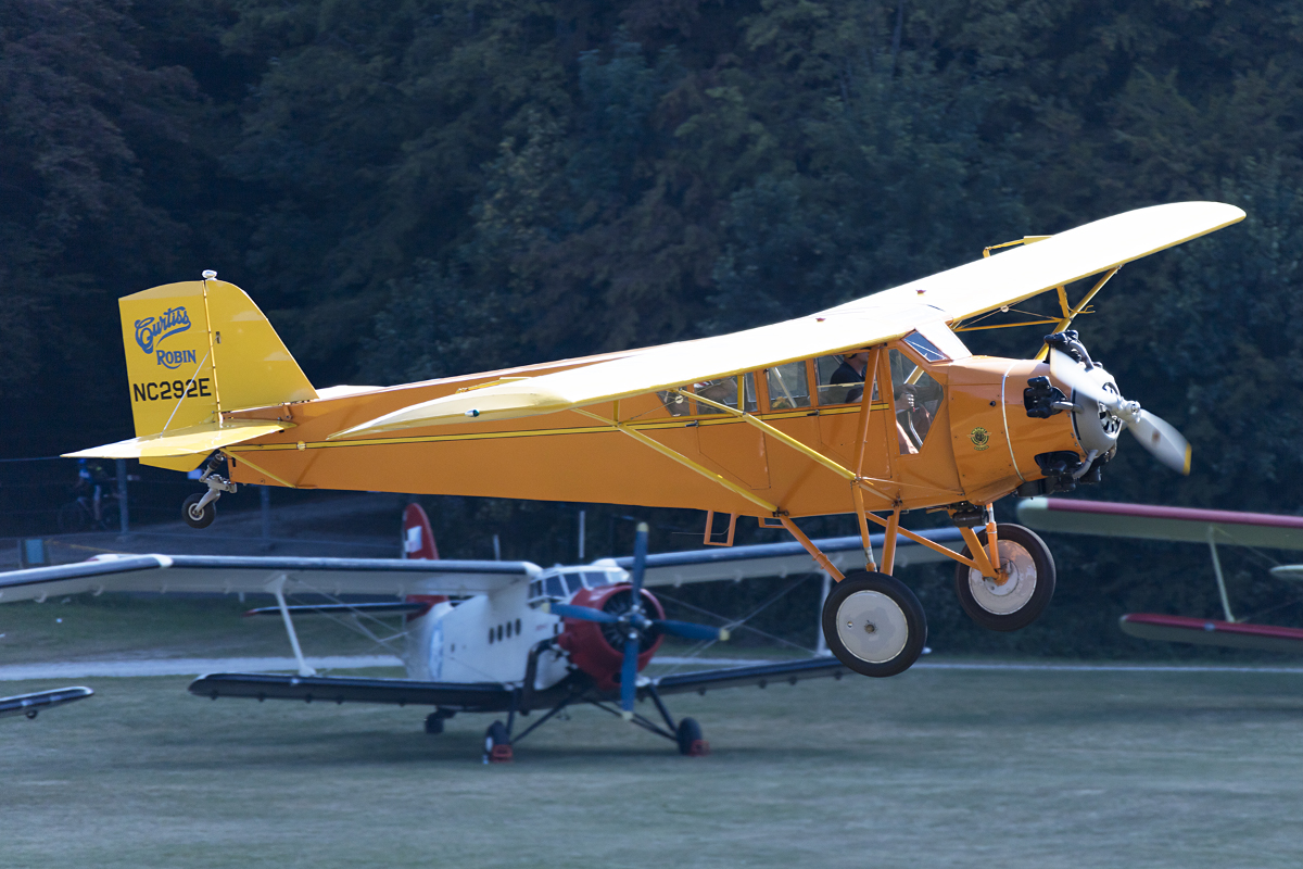 Private, NC292E, Curtiss, Robin, 09.09.2016, EDST, Hahnweide, Germany