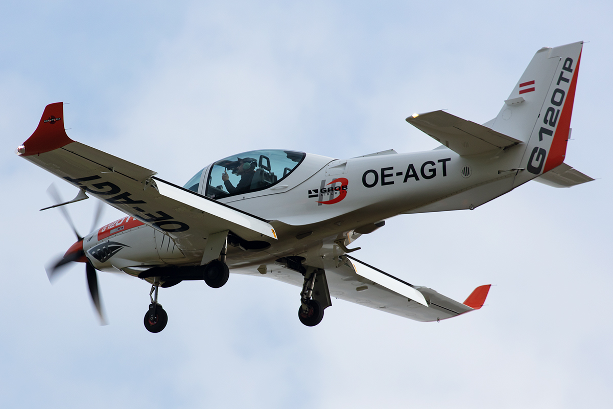 Private, OE-AGT, Grob, G-120TP, 14.09.2019, EDST, Hahnweide, Germany