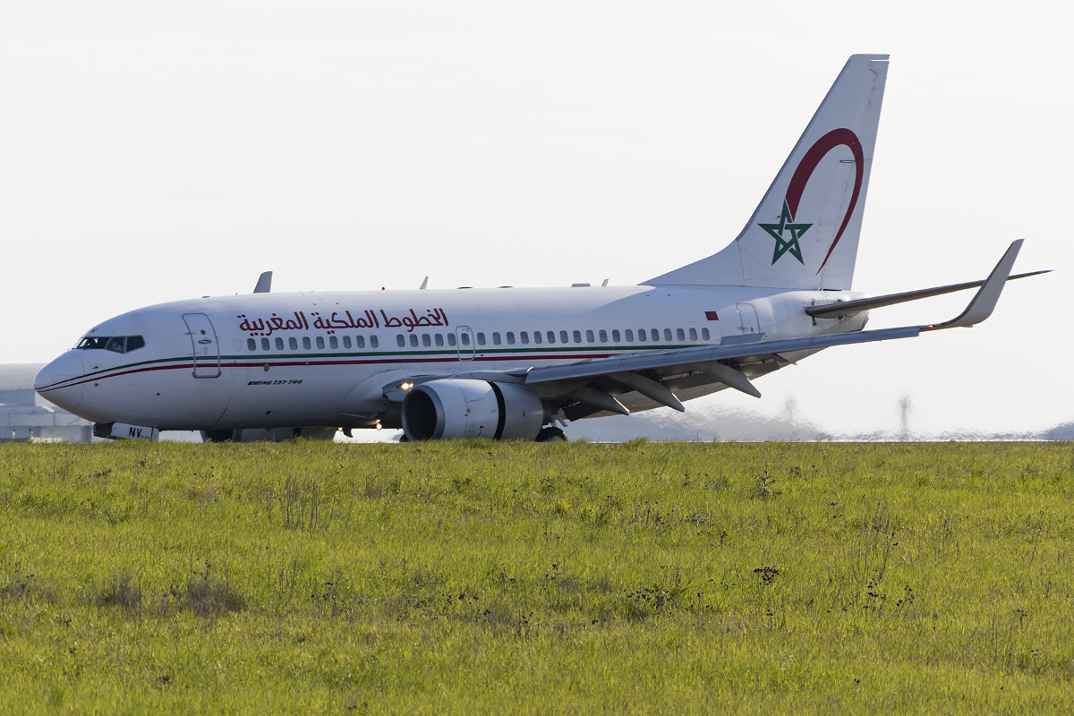 Royal Air Maroc, CN-RNV, Boeing, B737-7B6, 07.05.2016, CDG, Paris ...