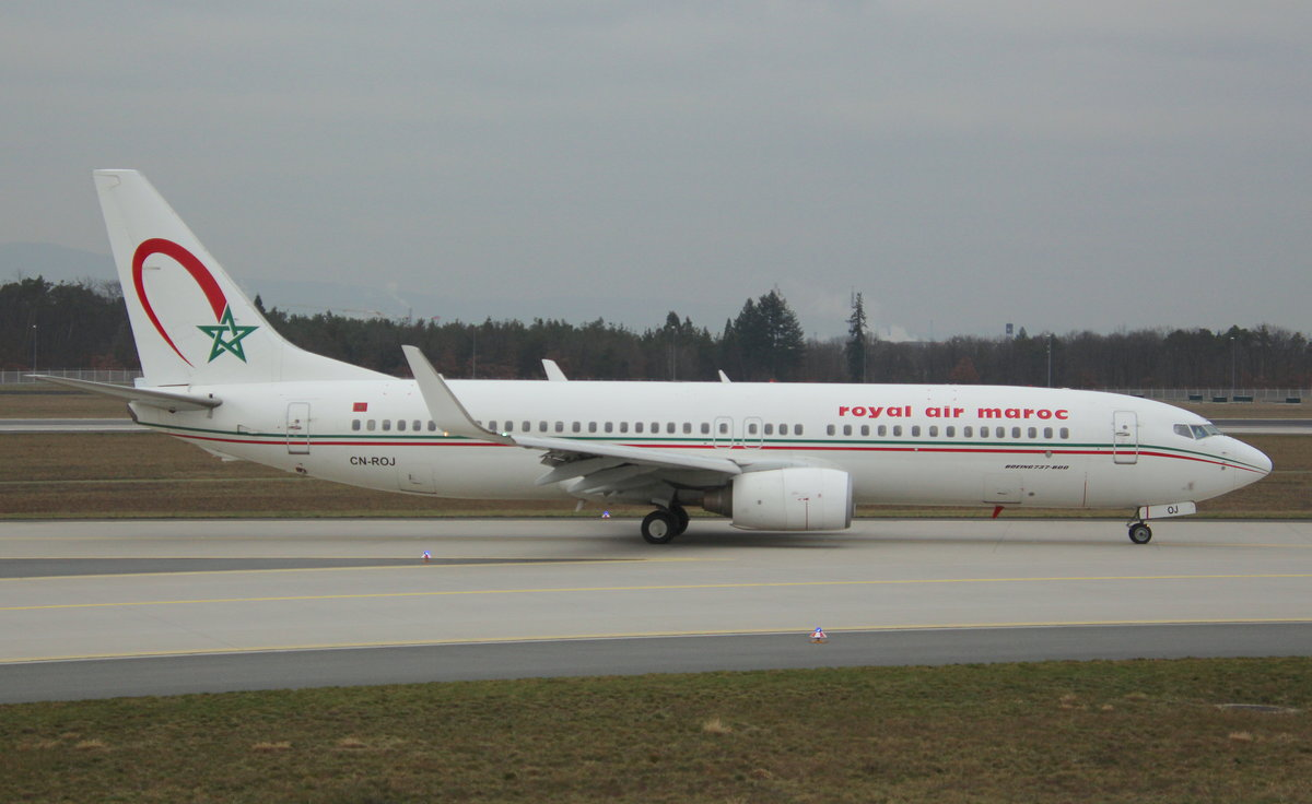 Royal Air Maroc, CN-ROY, MSN 33070, Boeing 737-886,13.01.2018, FRA-EDDF, Frankfurt, Germany