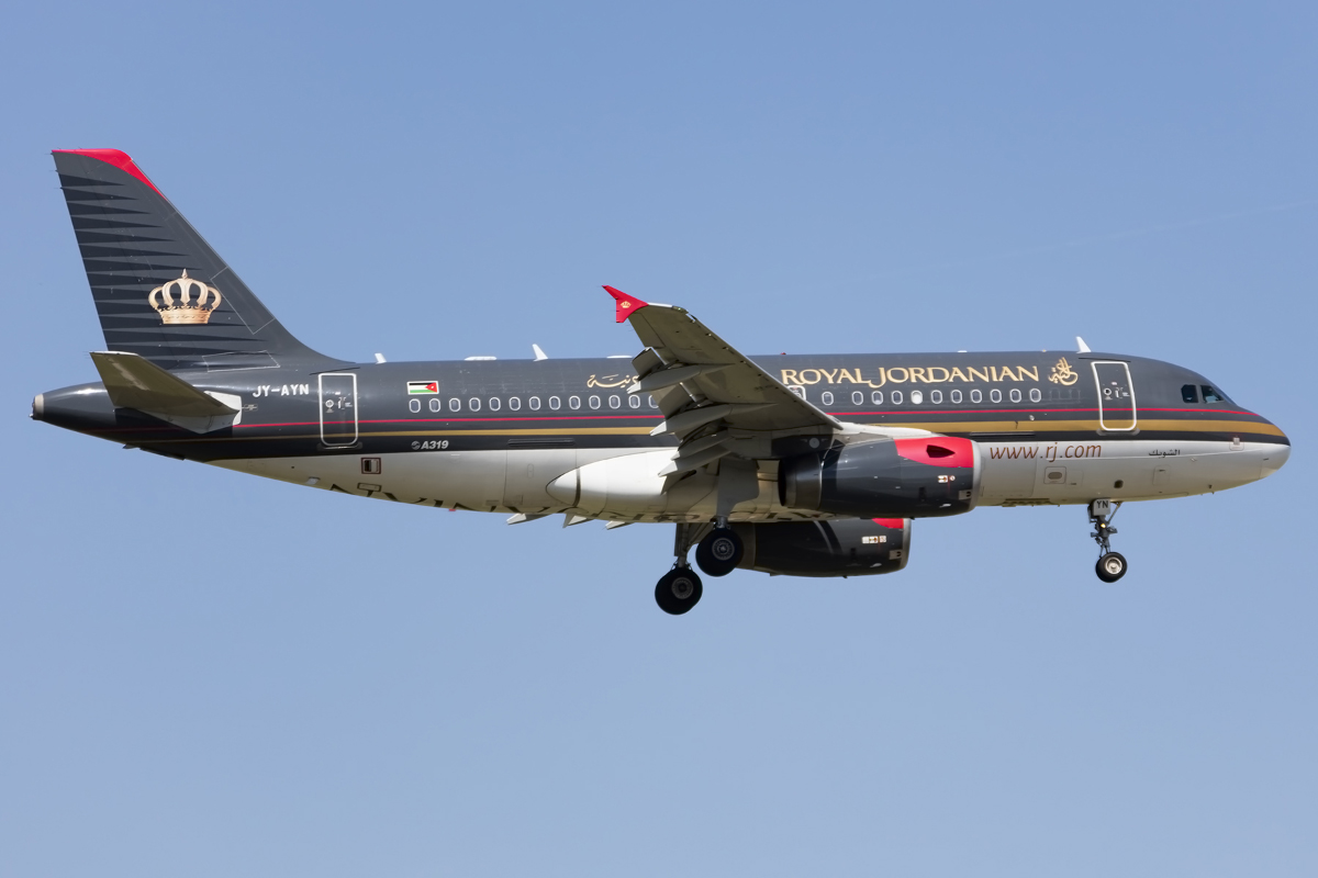 Royal Jordanian Airline, JY-AYN, Airbus, A319-132, 05.05.2016, FRA, Frankfurt, Germany
