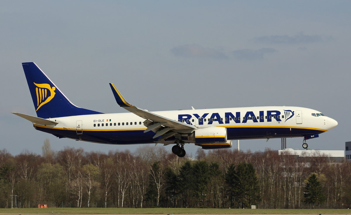 Ryanair, EI-DLE, (c/n 33587),Boeing 737-8AS(WL), 02.04.2016, HAM-EDDH, Hamburg, Germany