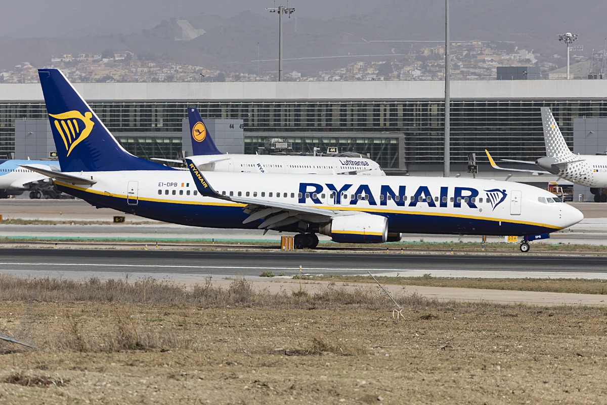 Ryanair, EI-DPB, Boeing, B737-8AS, 27.10.2016, AGP, Malaga, Spain