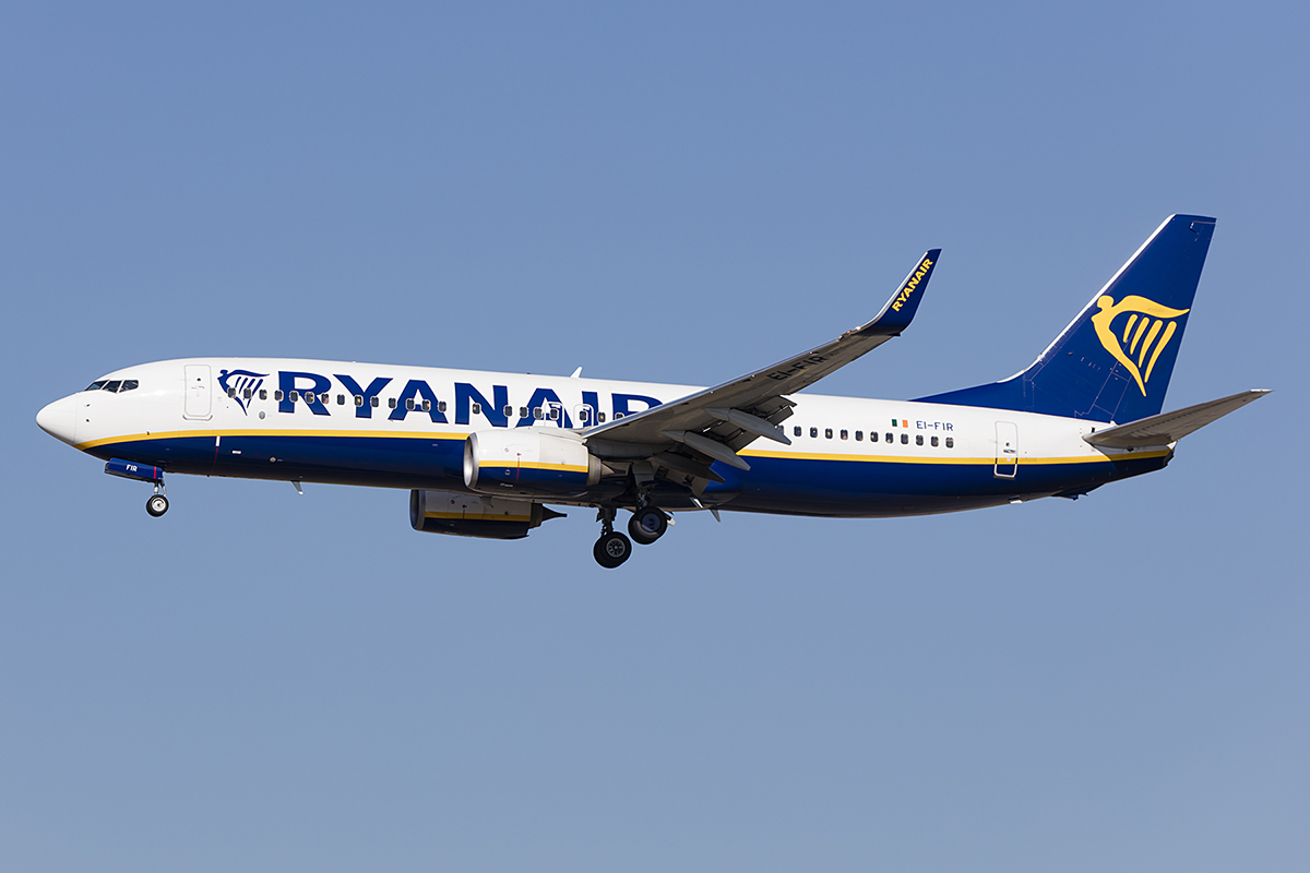 Ryanair, EI-FIR, Boeing, B737-8AS, 14.10.2018, FRA, Frankfurt, Germany