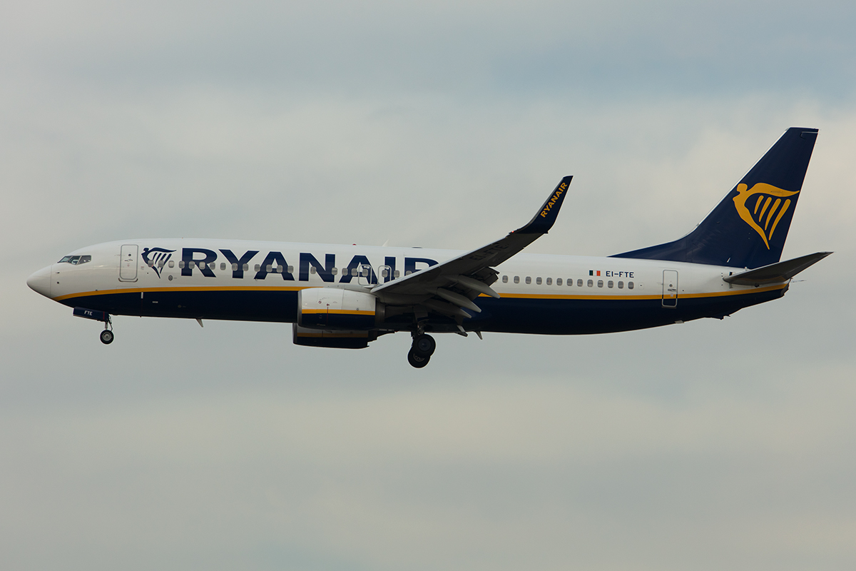 Ryanair, EI-FTE, Boeing, B737-8AS, 24.11.2019, FRA, Frankfurt, Germany